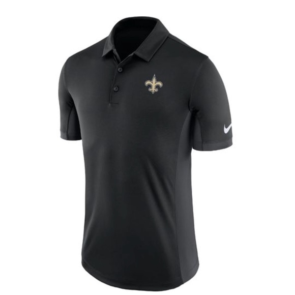 Nike Other - Nike Men's New Orleans Saints Evergreen Polo Shirt